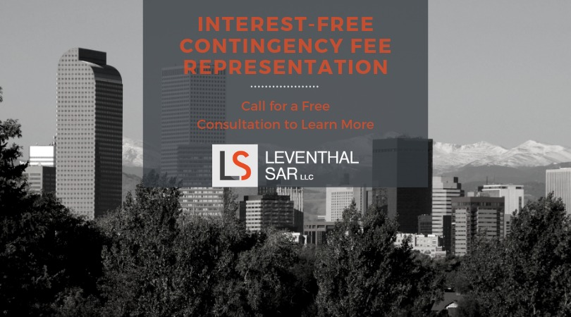 interest free contingency fee re